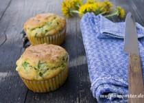 Bärlauch Käse Muffin