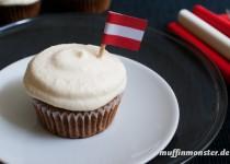 Cupcake Creme mit weißer Schokolade