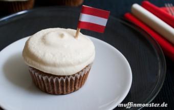 Cucake Creme mit weißer Schokolade